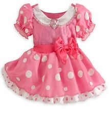 Disney Store Minnie Mouse Pink Baby Costume Outfit Size 6-12 12-18 18-24 Months
