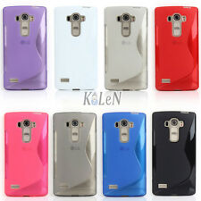 S Line Soft Gel TPU Silicone Case Skin Cover Shell Pouch For LG G4S G4 Beat H735