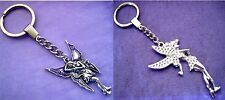 NEW PICK YOUR CHARM Silver Fairy Magic Wish KeyChain Keyring Magical Tinkerbell