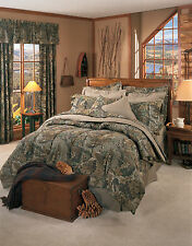 Realtree® Advantage Camouflage Camo Comforter Bed Set~Twin Full Queen Cal King
