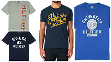 NEW TOMMY HILFIGER MENS COTTON GRAPHIC LOGO T-SHIRT SALE You Pick Size and Color