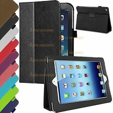 PU Leather Magnetic Smart Flip Stand Case Cover For Apple iPad Air / iPad 5