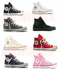 CONVERSE Chuck Taylor All Star High Top Shoes Unisex Canvas Classic Brand New