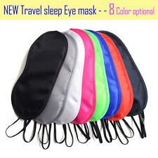 20X Sleep Eye Mask Sleep masks Blindfold For Car Train Plane Travel Sleeping Aid