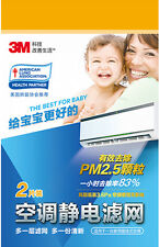 3M Electrostatic Air Cleaning Filters for WALL MOUNT Air Conditioner FREE SHIP