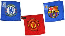 Soccer Face Towels Official European Football Club Crest SmallSoft Flannel Cloth