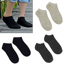1/3/5 Pairs New Men's Ankle Invisible Casual Sport Cotton Socks Low Cut Socks