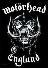 Motorhead England Textile Flag - NEW & OFFICIAL