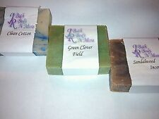 ORGANIC, ALL NATURAL & POPULAR FRAGRANCE SOAPS