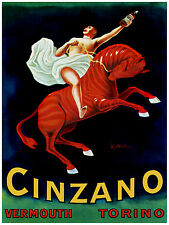 66.Art Decoration POSTER.Graphics to decorate home office.Cinzano Vermouth Ad.