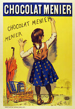 2117 Chocolat Menier Ad Art Decoration POSTER.Graphics to decorate home office.