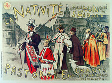 2142 La Nativite wall Art Decoration POSTER.Graphics to decorate home office.