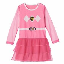 Girl's Power Rangers Pink Nightgown Pajamas Size's 4/5 - 6/6X - 7/8 - 10/12 NWT
