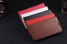 Luxury Real Leather Wallet Stand Case Cover For Samsung Galaxy Note II 2 N7100