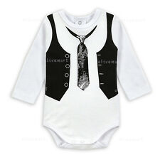 new Spring infant Onepiece baby bodysuit set baby boy bow tie climbing clothes
