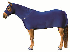 Brand New Roma Navy Lycra Stretch Full Body Rug Pony Cob Horse Show or Stable