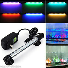 18 LED Aquarium Fish Tank Light Strip Bar Aquatic Lighting Supplies