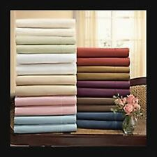 New HOTEL Collection 1000 TC Thinner Bedding pieces 100% EGYPTIAN COTTON Solid