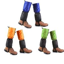 Waterproof Fleece Thermal WALKING GAITERS Hiking Climbing Trekking Boot Leggings