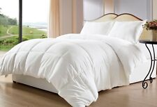 Super Soft Down Alternative Comforter 100% Egyptian Cotton Cover (Size & Color)