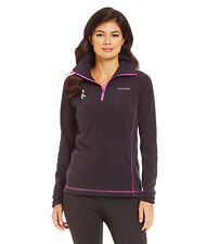 COLUMBIA WOMEN'S TESTED TOUGH IN PINK FLEECE HALF ZIP TOP JACKET #XL6447-NWT