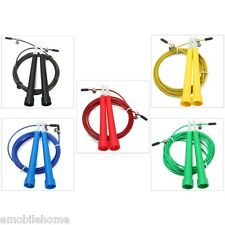 Steel Cable Wire High Skip Adjustable Jump Rope Exercise Gym Fitness 3M