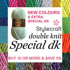 Stylecraft Special DK Double Knit Knitting & Crochet Yarn  *BUY 10+ & SAVE 5%*
