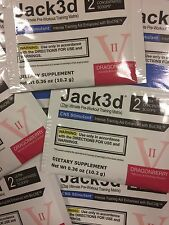 USP Labs Jack3 Lot of 20 Sampless.Pick Flavor.Total 40 Servings.Fresh.