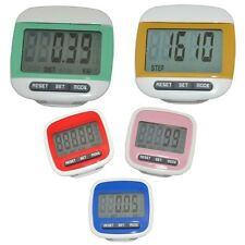 Digital Run Walking Distance Step Calorie Counter Pedometer Fitness Exercises