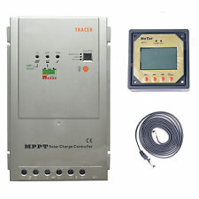 EPsolar 40A/30A/20A/10A MPPT Solar Battery Charge Controller + Remote Meter MT5