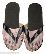 MENS Costume Fancy Dress Up SW Halloween Billy Bob Zombie Feet Sandals- Adult