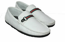 Mens Shoes Loafers Deck Style Comfort Gio Gino Casual Designer White boat stripe