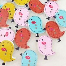 10/50/100/500pcs Baby Birds Baby Sewing Button Scrapbooking 26x24mm W125