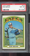 1972 Topps #773 Ron Brand Montreal Expos NM-MT PSA 8 Graded Baseball Card