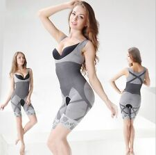 Sexy Ladies Natural Bamboo Charcoal Micro-Fibre Body Shaper Slimming Underwear