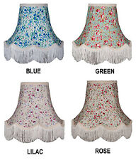 Floral Lamp shades, Wall Lights, Table Lamps, Ceiling lights Standard Lampshades