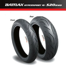 BRIDGESTONE Battlax Hypersport S20 EVO Radial Tires - Front / Rear / Sets