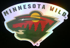 Minnesota Wild Decal Sticker NHL Hockey Licensed