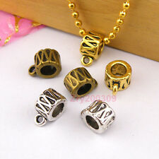15Pc Tibetan Silver,Gold,Bronze Charm Pendant Bail Connector Fit Bracelet M1246