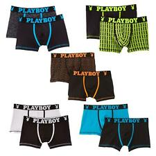 Playboy Mens 2 Pack Boxer Shorts Small Med Large Xl