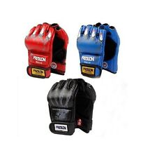 MMA boxing gloves wrist leather wraps half fighting Competition Training Gloves