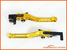 Ducati 996 / 998 / B / S / R 1999-2003 CNC Short Adjustable Brake Clutch Levers