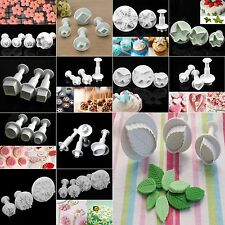 Fondant Cake Cookie Decorating Sugarcraft  Icing Plunger Cutter DIY Mold Mould