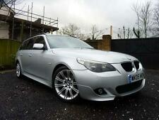 2005 BMW 525D M SPORT 5DR MANUAL DIESEL TOURING IN SILVER