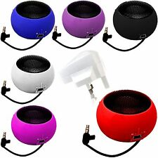3.5mm PORTABLE MINI CAPSULE SPEAKER+WHITE PLUG FOR VARIOUS APPLE PHONES