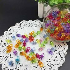50pcs Baby Shower Favors Mini Pacifiers Girl Boy Party Decorations Baby