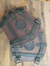 Sorcerer Brown Bracers Larp Medieval Arm Armor SCA Renaissance Cosplay Pirate