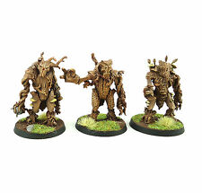 Warhammer Fantasy Army Wood Elves Characters x3 Painted And Based NOT GW
