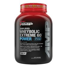GNC Pro Performance AMP Amplified Wheybolic Extreme 60 POWER Whey Protein 2.87lb