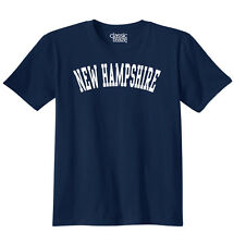 New Hampshire State Shirt Athletic Wear USA T Fun Gift Ideas T-Shirt Tee
